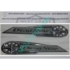 Шильдик  на бак Yamaha Drag Star 400