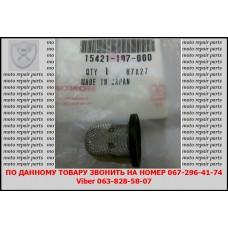 Сеточный масляный фильтр Honda Silver Wing 400-600сс (15421-107-000). Оригинал!