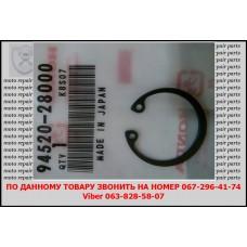 Стопорное кольцо подшипника заднего вариатора Honda Lead 110сс. (94520-28000)