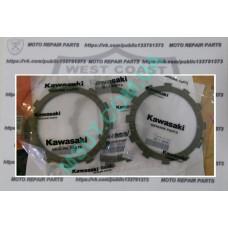 Фрикционные диски сцепления Kawasaki Versus 650  (13088-1105)