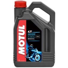 Motul 3000 4T 20w50 4L, минеральное.