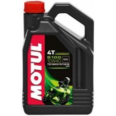Motul 5100 4T 10w40 4L, полусинтетика.