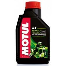 Motul 5100 4T 15w50 1L, полусинтетика.
