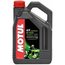 Motul 5100 4T 15w50 4L, полусинтетика.