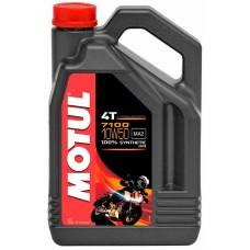 Motul 7100 4T 10w50 4L, синтетика.