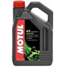 Motul 5000 4T 10w40 1L, полусинтетика.