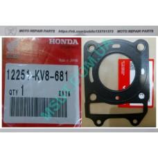 Прокладка головки цилиндра Honda Spacy 125 сс, HondaElite,Honda СH 125cc, водяное охлаждение (12251-KV8-681). Оригинал!