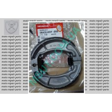Тормозные колодки задние Honda Lead 110cc (06430-KRF-B90)
