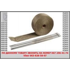Термолента для глушителя, (1,5 мм /25 мм) длина5 м