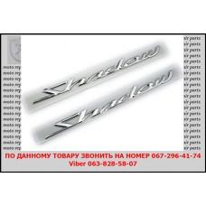 Шильдик Honda Shadow VT750.