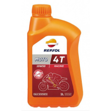 Масло моторное 4Т Repsol MOTO RACING 4T 10W50, 1л (RP160P51)
