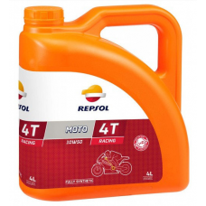Масло моторное 4Т Repsol MOTO RACING 4T 10W50, 4л (RP160P54)