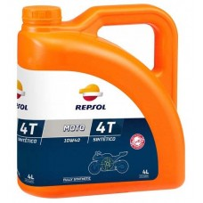 Масло моторное 4Т Repsol MOTO SINTETICO 4T 10W40, 4л (RP163N54)