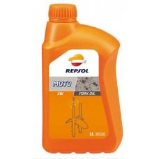 Масло для амортизаторов Repsol MOTO FORK OIL 5W, 1л (RP172L51)