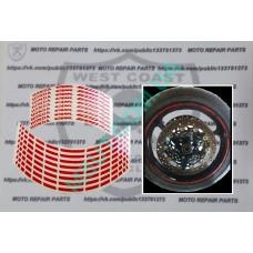 Cветоотражающие полоски на диск Honda CBR 600RR