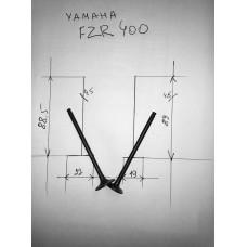 Клапана впуск+выпуск YAMAHA FZR400 пара (88,5-4,5-22*89-4,5-19)