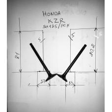 Клапана впуск+выпуск HONDA KZR(SH125\PCX) пара (81-5-27*80,2-5-23)