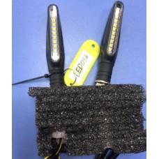 Повороты в сборе Универсальные LED-056 - (бегущая полоса)(пара)