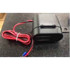 Прикуриватель+USBзарядка+часы (с предохранителем) МОТО-СКУТЕР