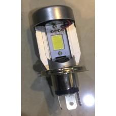 """Лампа фары H4 12V 20W """"с охлаждением"""" LED"""