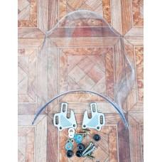 Ветровое стекло HONDA CB400 Оригинал под круглую фару (прозрачное)