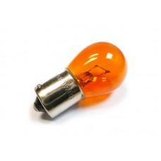 Лампа стопа S25 12V21\5W  (желтая)   цоколь 2к.