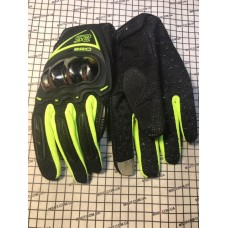 Перчатки с пальцами ASSIO вставка хром