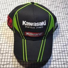 Кепка KAWASAKI черн-зеленая