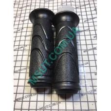 Ручки на руль DELTA Л+П(с пластмасовой вставкой) 22мм