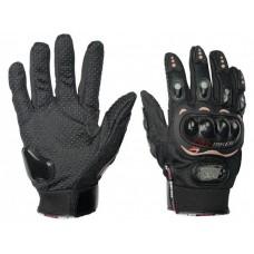 Перчатки ProBiker с пальцами , черный L