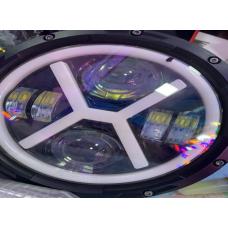 Вставка в фару  МОТО LED (185мм) круглая (X HARLEY)