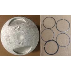 Поршневой к-т HONDA SH125  ( 52,4мм.) 0.25  в сборе ОРИГИНАЛ 13102-KGF-910