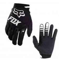 Перчатки с пальцами FOX черные L