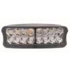 Доп-свет ЛАМПА 16 LED диодов черная (пластик)