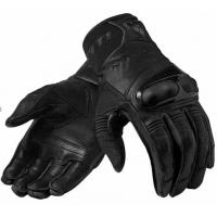 Перчатки с пальцами (КОЖА ) черный XL