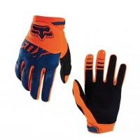 Перчатки с пальцами FOX оранжевые M\L