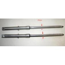 Передний аммортизатор (вилка)  ALPHA пара 27мм