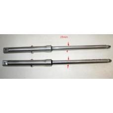 Передний аммортизатор (вилка)  ALPHA пара 25мм.
