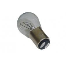 Лампа стопа S25 12V 21\5W с цоколем  2 контакта.