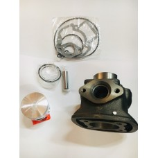 Цилиндр + головка в сборе ЦПГ PIAGGIO 2T 80cc NRG (вод.охлаждение) 4 кут. MC-2