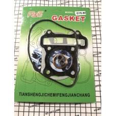 Прокладки цилиндра GY6-80 КАЧЕСТВО (металл)