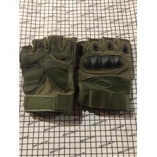 """Перчатки без пальцев """"ТАКТИЧЕСКИЕ"""" Oakley TG-1 реплика  (L)"""