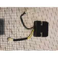 Регулятор напряжения MOTO 125-400cc 3+3 (2 фишки) CG200
