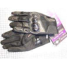 Перчатки с пальцами VEMAR (карбоновая вставка,КОЖА) XL