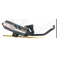 182, Глушитель CRUISER 150-50cc  хром, , $36.00, 00508, KOYO, Глушитель (труба выхлопная),накладка глушителя