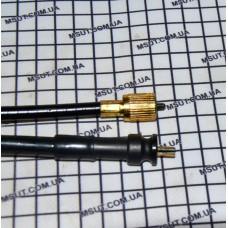 Трос спидометра GY6-3    ( гайка  - пластик. вставка) DELTA длин.