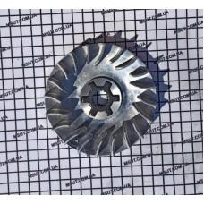 Крыльчатка вариатора алюминевая  BWS100 + крестовинка