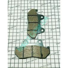 Колодки тормозные задние  HONDA SILVER WING диск