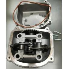 Головка цилиндра в сборе 150СС4Т + распредвалом + крышка клапана