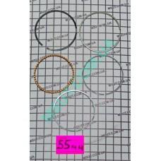 Кольца поршневые GY6   55Ф    STD
